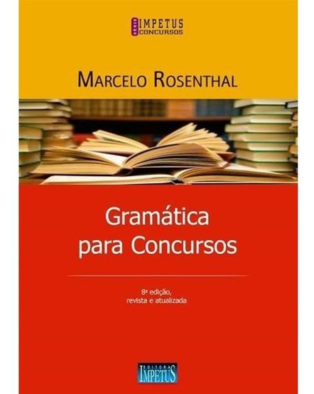 Gramática Para Concursos 8a Edição/2018