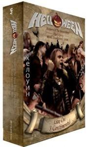 Helloween - Live On 3 Continents 2 Dvd + 2 Cds Box Luxo