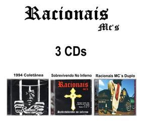 Racionais Mcs 3 Cd 1994 + Sobrevivendo No Inferno + Cd Duplo
