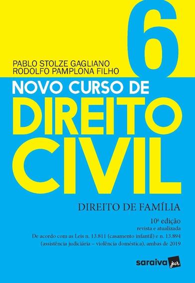 Novo Curso De Direito Civil Vol 6 - Direito De Família/2020