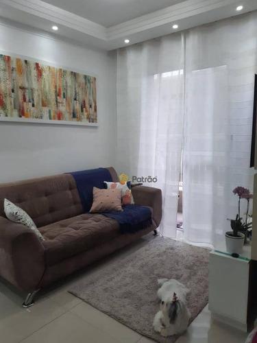 Imagem 1 de 10 de Apartamento Com 2 Dormitórios À Venda, 50 M² Por R$ 230.000,00 - Vila Gonçalves - São Bernardo Do Campo/sp - Ap3211