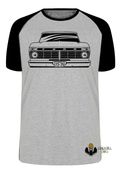 Camiseta Luxo Camionete Ford Antiga Carro Antigo Suv Anos 70