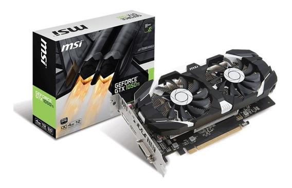 Geforce Msi Gtx 1050ti Oc 4gb Ddr5 128bit - 912-v809-2272