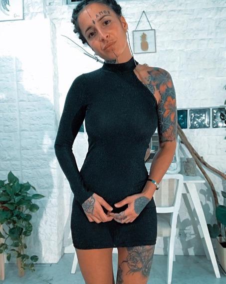 Vestido Corto Dama Mujer Tendencia Art 7032