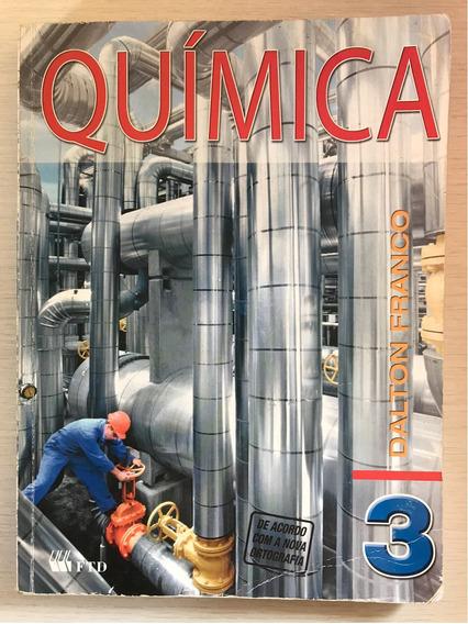 Livro De Química Vol.3 - Editora Ftd