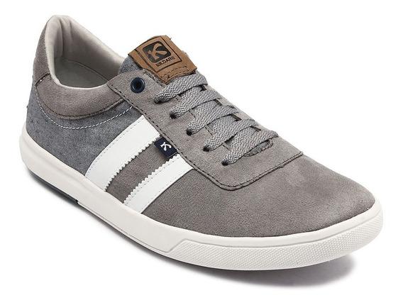 Sapato Kildare Camurça Grey 1021.9101