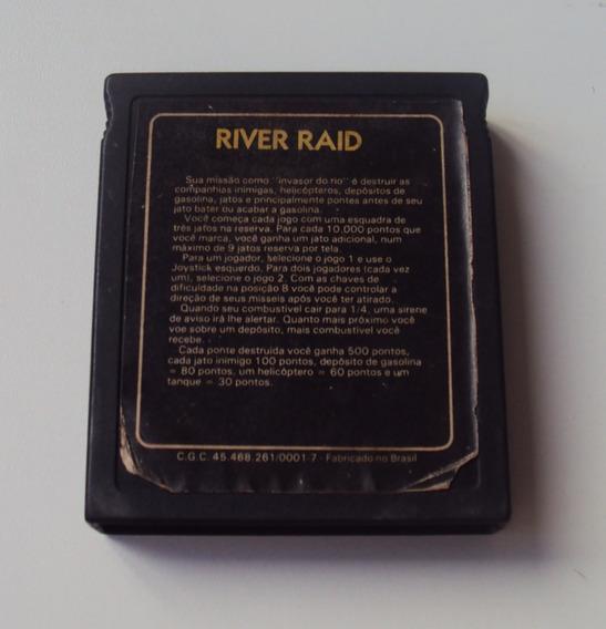 River Raid - Dactar - Compatível Com Atari 2600