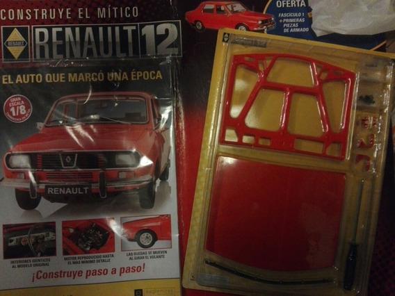 Renault 12 Para Armar Esc 1/8 Capot Fascículo N 1