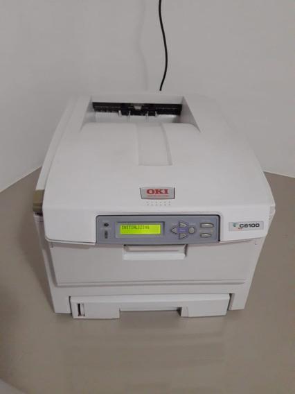 Impressora Colorida Okidata C6100 Duplex Semi-nova Perfeita.