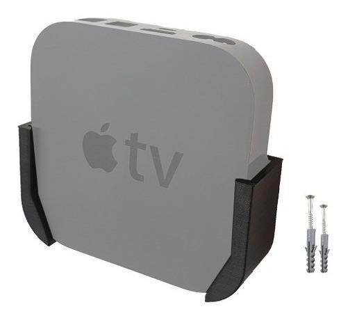 Suporte De Parede Para Apple Tv 2 3 Geração + Parafusos