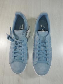 Tenis adidas Campus Stich And Turn Azules Gamuza Envio Grati