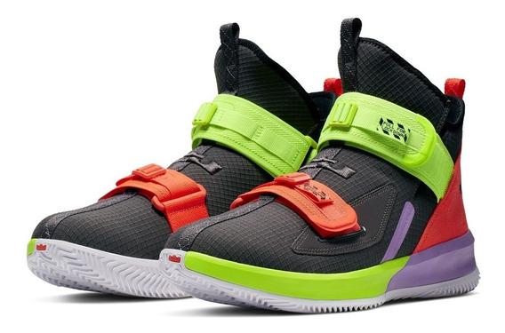 Tênis Nike Lebron Soldier 13 Thunder Bright Crimson Eletric