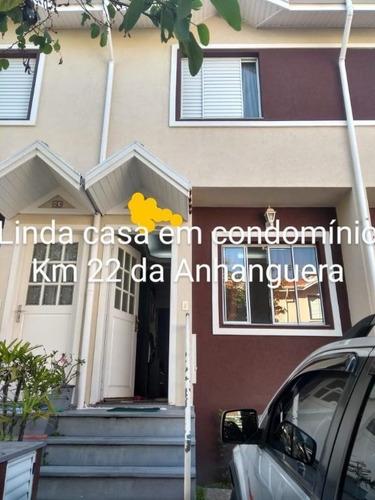 Imagem 1 de 15 de Casa Em Condomínio Para Venda Em Cajamar, Jardim Jaraguá, 2 Dormitórios, 2 Banheiros, 1 Vaga - Ca-0080_1-1796403