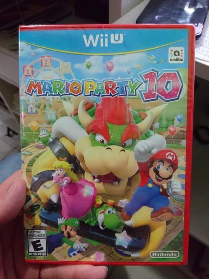 Mario Party 10 Wii U Lacrado - Midia Fisica