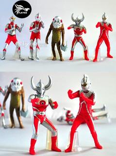 Set 5 Figuras Ultraman Japon / Kaiju / Envio Gratis
