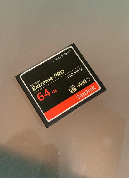 Cartão Compact Flash - Sandisk - 64gb - Extreme Pro