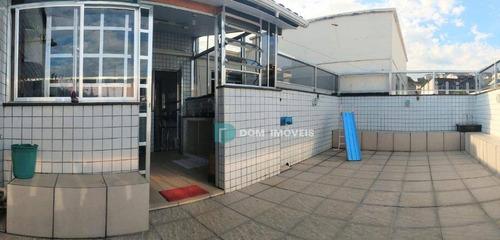 Cobertura Com 2 Dormitórios À Venda, 160 M² Por R$ 450.000 - Bairu - Juiz De Fora/mg - Co0217