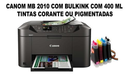 Impressora Multifuncional Canon 2110 Com Bulkink 400 Ml