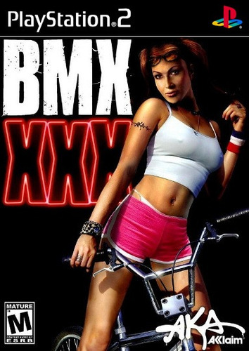 BMX XXX Playstation 2 cover game