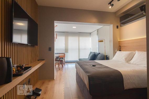 Apartamento Para Aluguel - Brooklin, 1 Quarto, 30 - 893051347