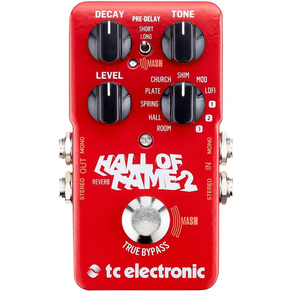 Pedal Reverb - Hall Of Fame Reverb 2 - Tc Electronic