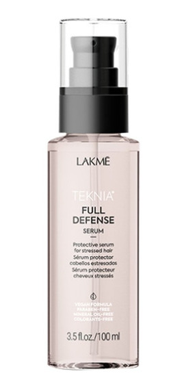 Serum Protector Cabellos Rebeldes Full Defense Lakme 100ml