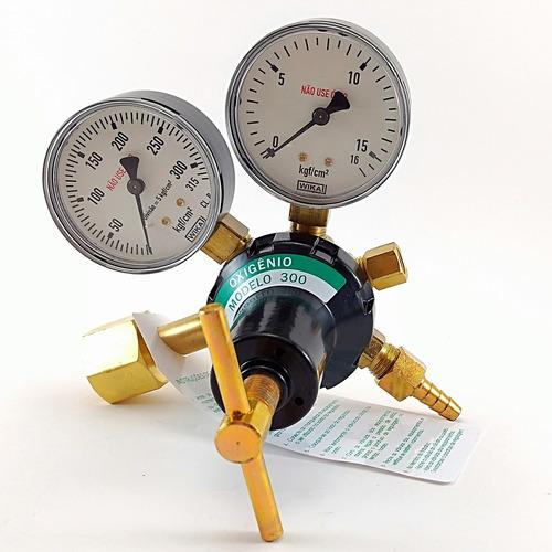 Regulador De Pressão Para Cilindro De Oxigênio Sm300