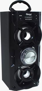 Parlante Inalambrico Torre Karaoke Microfono 2x10w Usb Sbl10