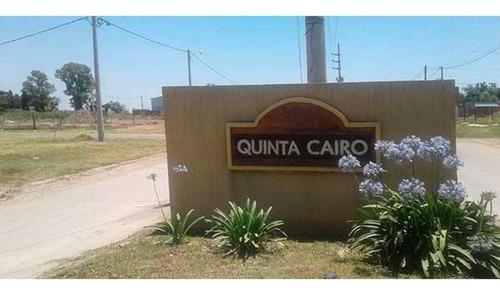 Imagen 1 de 8 de Lote 10 Manzana J En Venta En Barrio Quinta Cairo - Capitan Bermudez