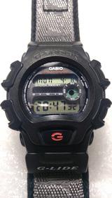 Relogio Casio G-shock G-lide Dw-004 X-treme Black Anos 80