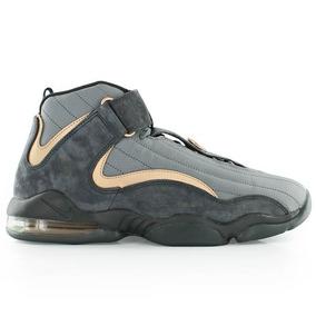 Nike Air Penny 4 Copper #7.5 Jordan Pippen Lebron Kobe Shaq