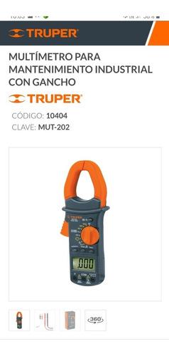 Truper Pinza Amperimetrica Mut-202