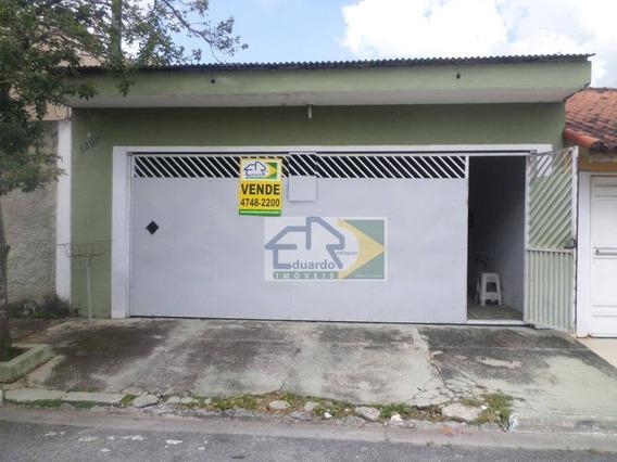 Casa Com 1 Dormitório À Venda, 155 M² Por R$ 380.000 - Jardim Dos Ipês - Suzano/sp - Ca0247