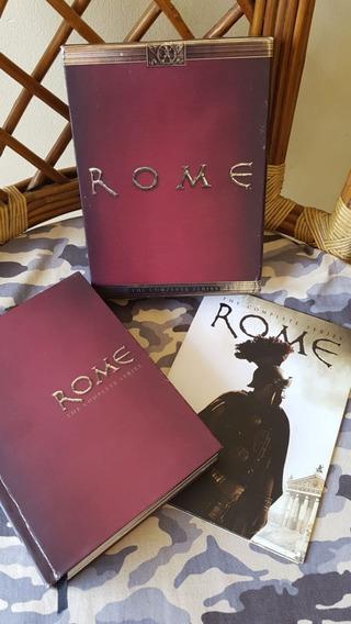 Dvd Roma Série Completa - Box Original Americano