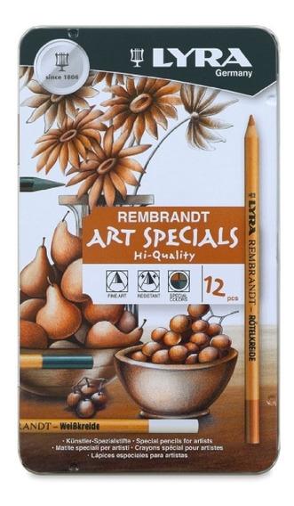 Lapices Para Bocetar Lyra Art Specials Con 12 Pzs