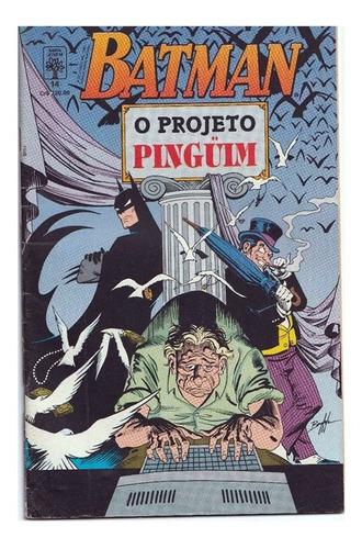 Batman 14 Dc Comics Abril Jovem 1991