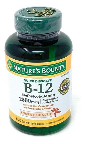 Vitamina B12 2500mcg 300tab