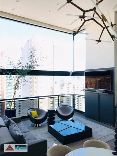 Imagem 1 de 30 de Apartamento Com 3 Dormitórios, 165 M² - Venda Por R$ 2.600.000,00 Ou Aluguel Por R$ 14.000,00/mês - Jardim Anália Franco - São Paulo/sp - Ap6709