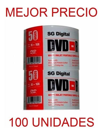 Dvd Virgen Printeable Sg Digital Dvd-r 16x 4.7 Gb