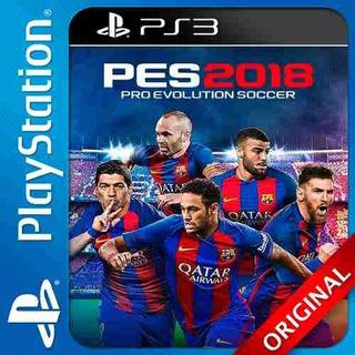 Pes 2018 Ps3 Pro Evolution Soccer 2018 Completo Original