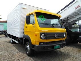 Caminhão 3/4 Baú + Plataforma Vw 9.160 2012