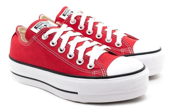 Tênis Converse Allstar Ct04950002 Vermelho/preto/branco