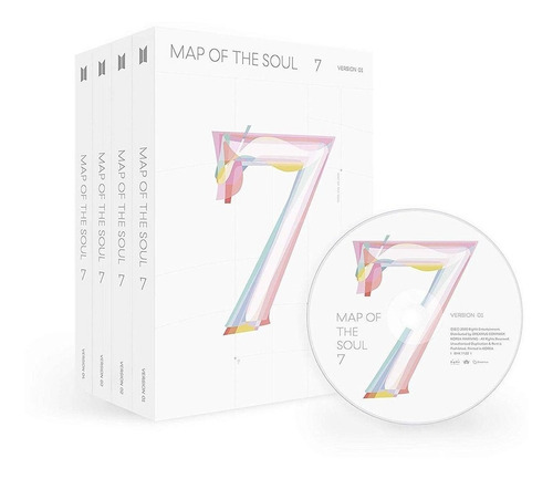 Bts Map Of The Soul: 7 Usa Import Cd Nuevo