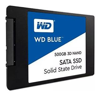 Disco Solido 500gb Wd Western Digital Ssd 2.5 Sata3 Misetec