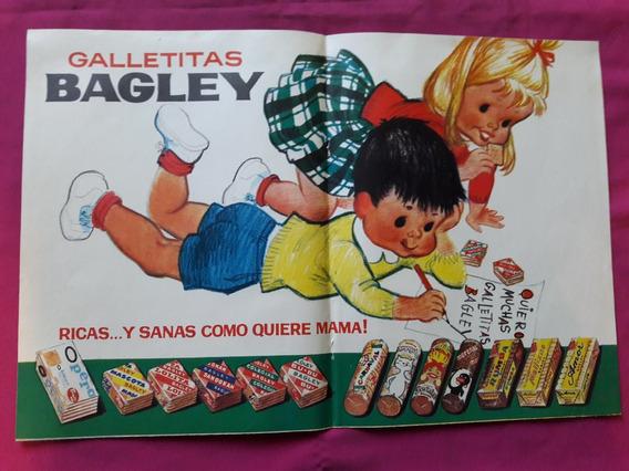 Póster Publicidad Galletitas Bagley - 41 Cm X 28 Cm