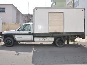 Chevrolet 3.5 Toneladas A Gas Caja Seca Y Rampa Hidraulica