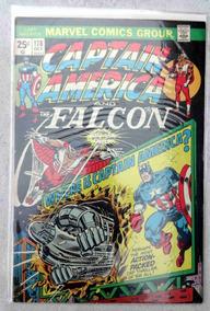 Captain America Nº 178 - The Falcon - Sal Buscema - 1974