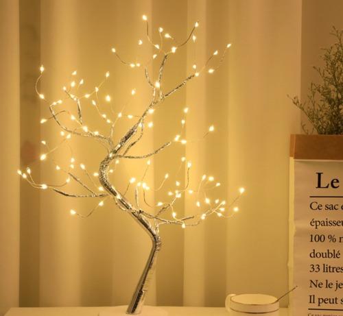 Imagen 1 de 7 de Luces De Decoración Navideña Led Luces De Árboles Bonsai