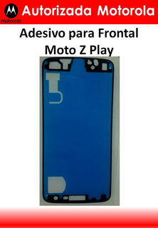 Adesivo Frontal Tela Display Moto Z Play Original Autorizada Motorola
