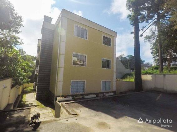 Apartamento À Venda Por R$ 190.000,00 - Palmitalzinho - Quatro Barras/pr - Ap0197